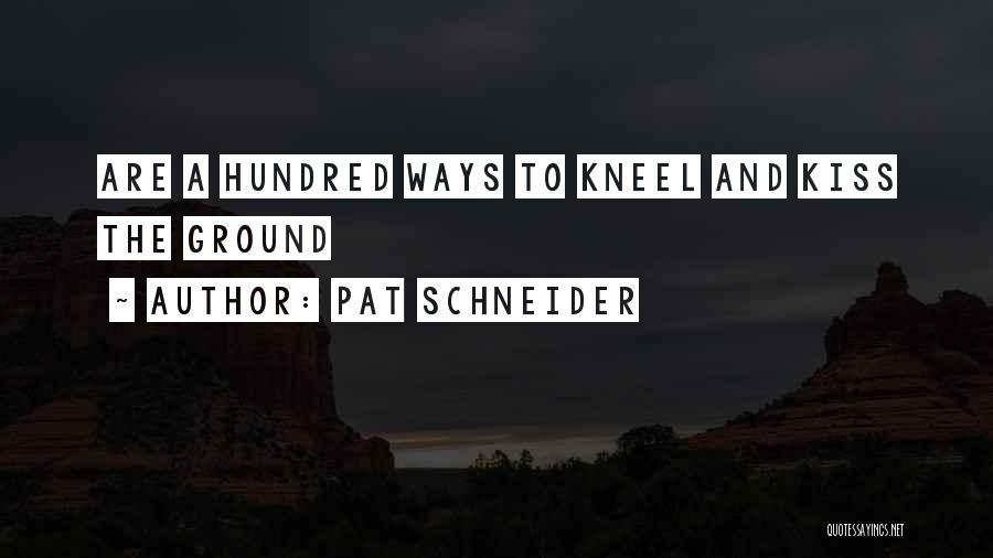 Pat Schneider Quotes 1884992