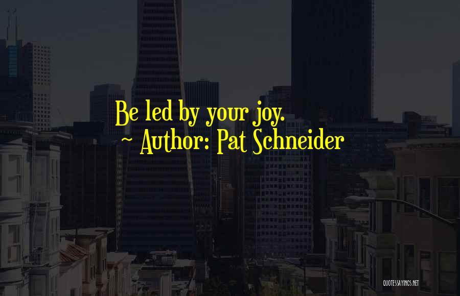 Pat Schneider Quotes 2242817