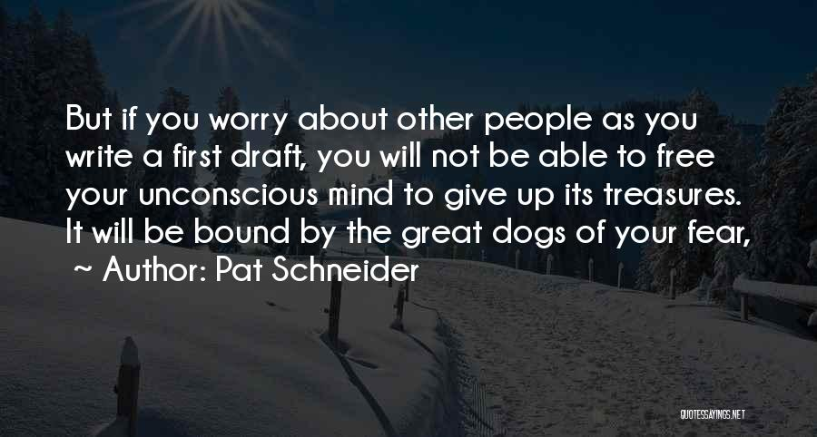 Pat Schneider Quotes 99430