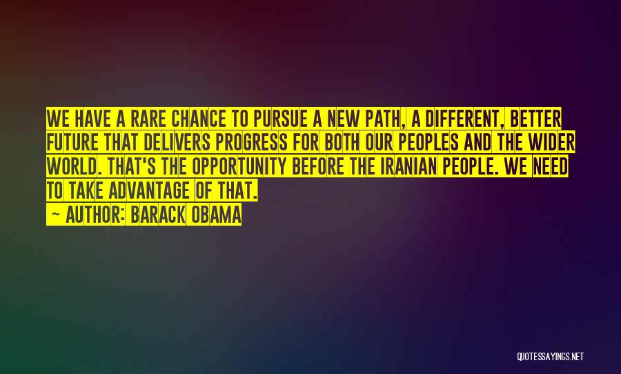 Path Quotes By Barack Obama