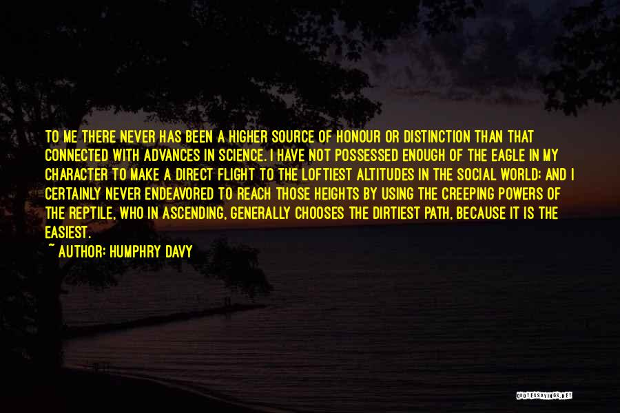 Path Quotes By Humphry Davy