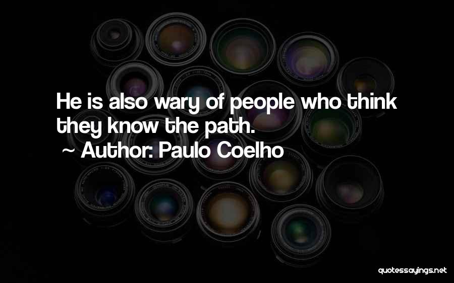 Path Quotes By Paulo Coelho