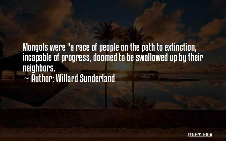 Path Quotes By Willard Sunderland