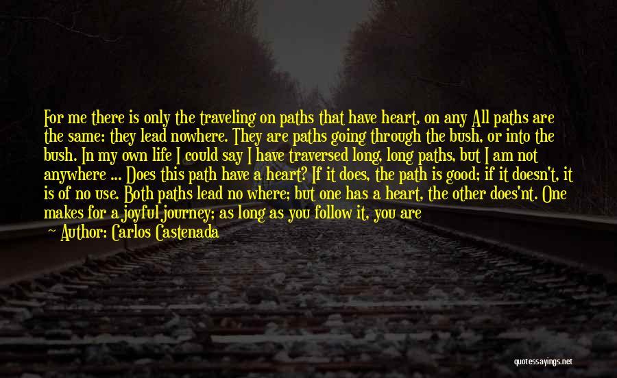 Path To Nowhere Quotes By Carlos Castenada