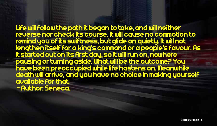 Path To Nowhere Quotes By Seneca.