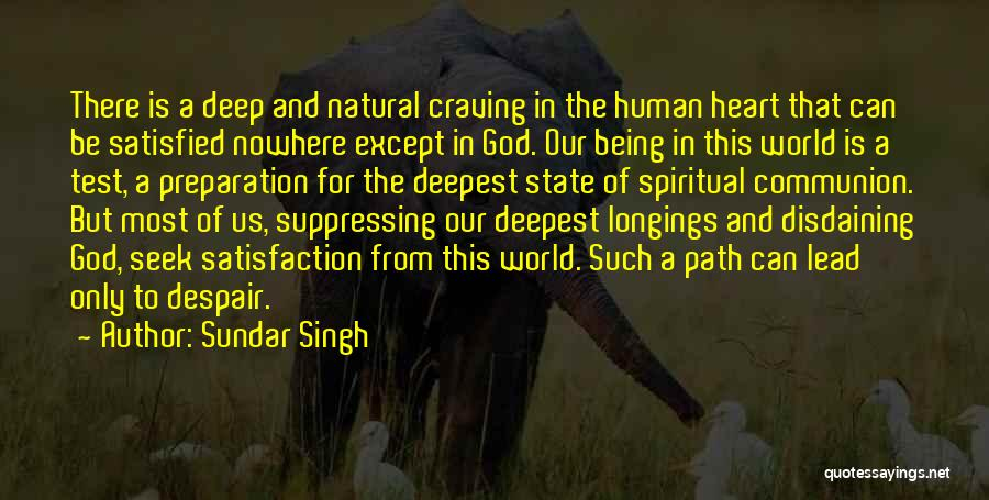 Path To Nowhere Quotes By Sundar Singh