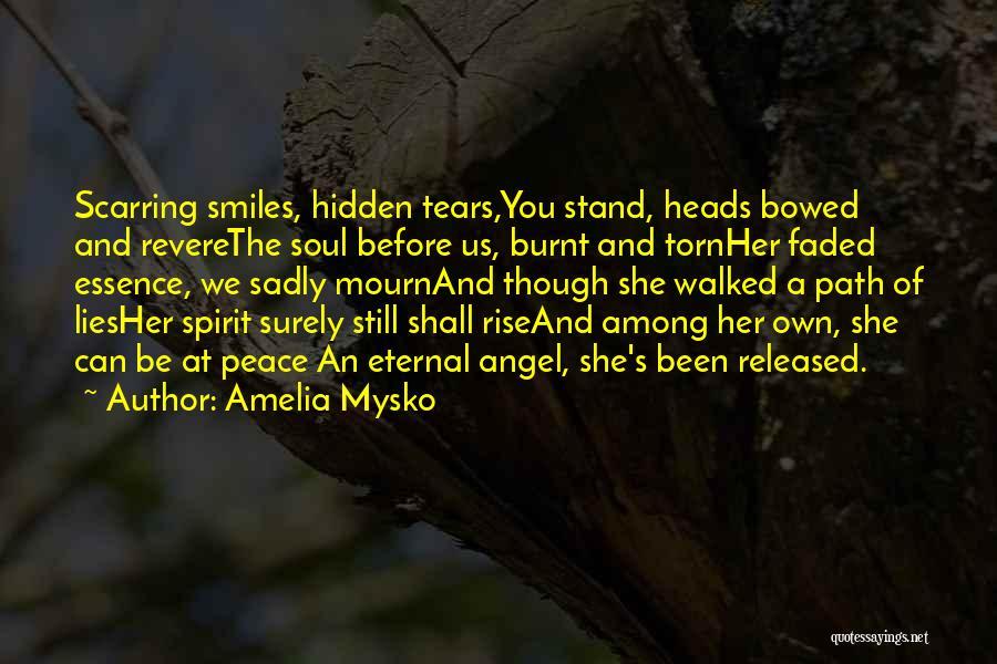Path Walked Quotes By Amelia Mysko