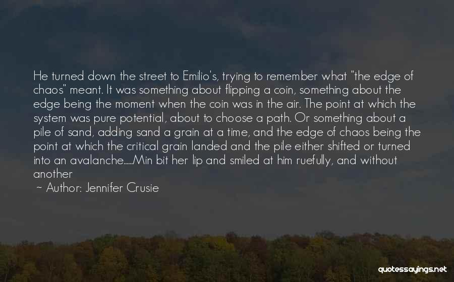 Path Walked Quotes By Jennifer Crusie