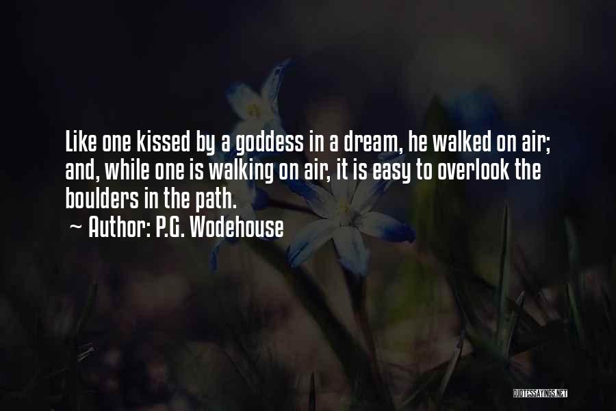 Path Walked Quotes By P.G. Wodehouse