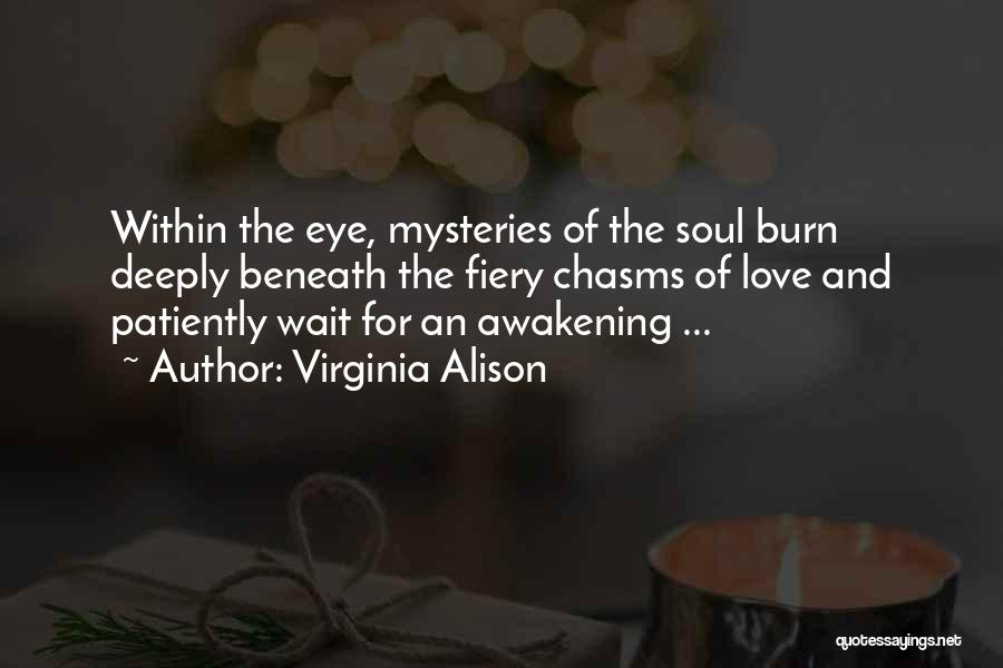 Patience And Love Quotes By Virginia Alison