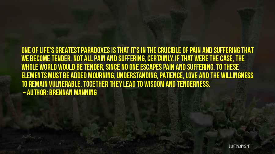 Patience And Quotes By Brennan Manning