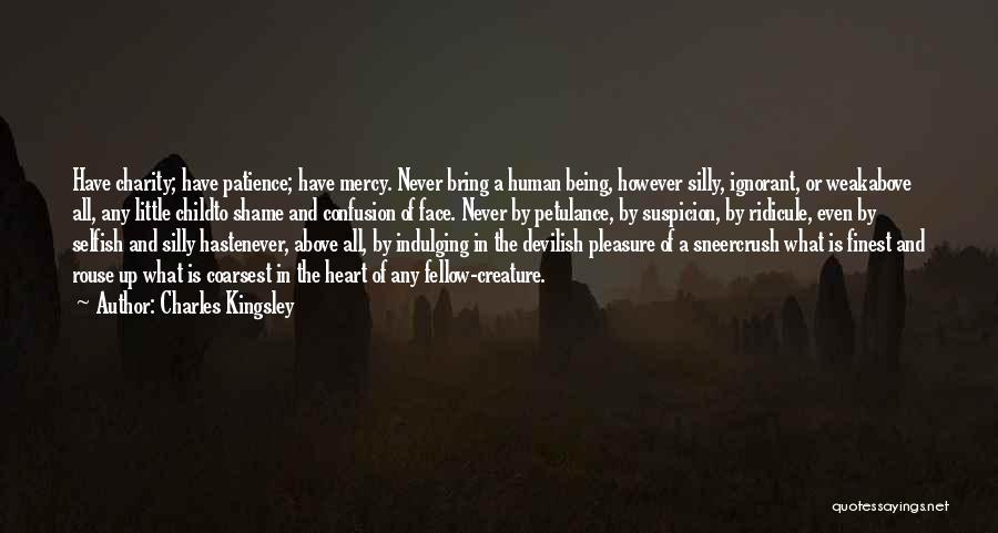 Patience And Quotes By Charles Kingsley