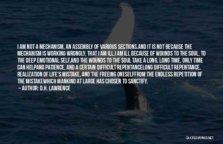 Patience And Quotes By D.H. Lawrence