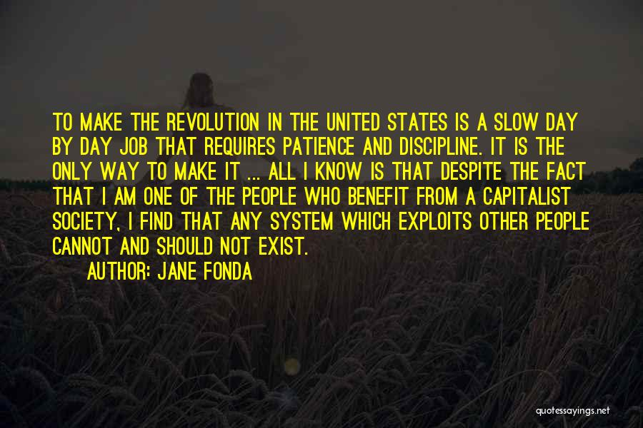 Patience And Quotes By Jane Fonda