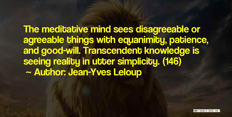 Patience And Quotes By Jean-Yves Leloup