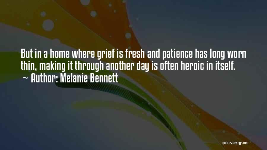 Patience And Quotes By Melanie Bennett