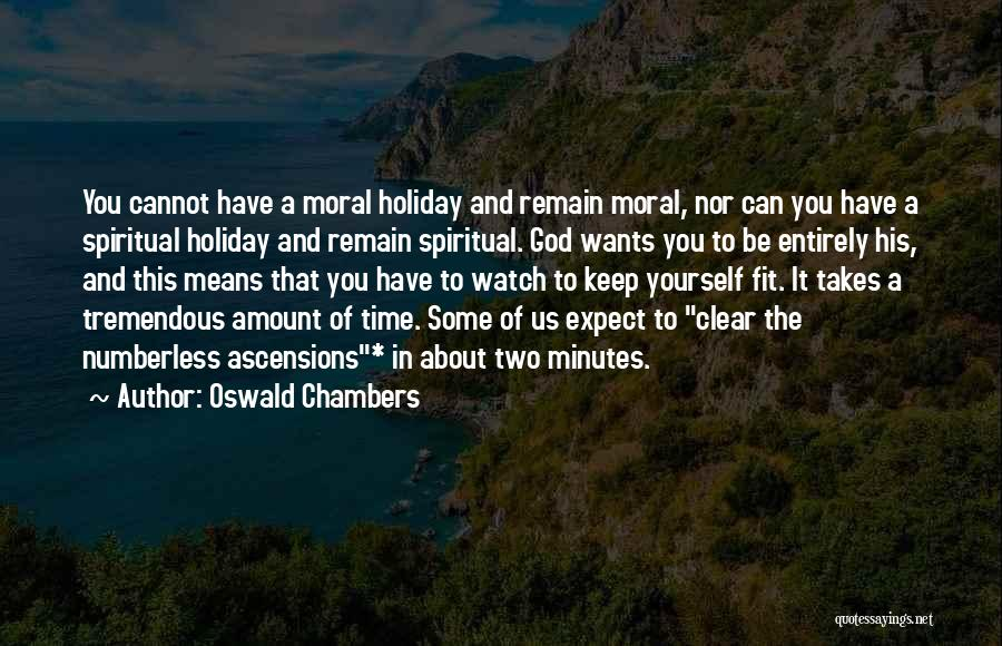 Patience And Quotes By Oswald Chambers