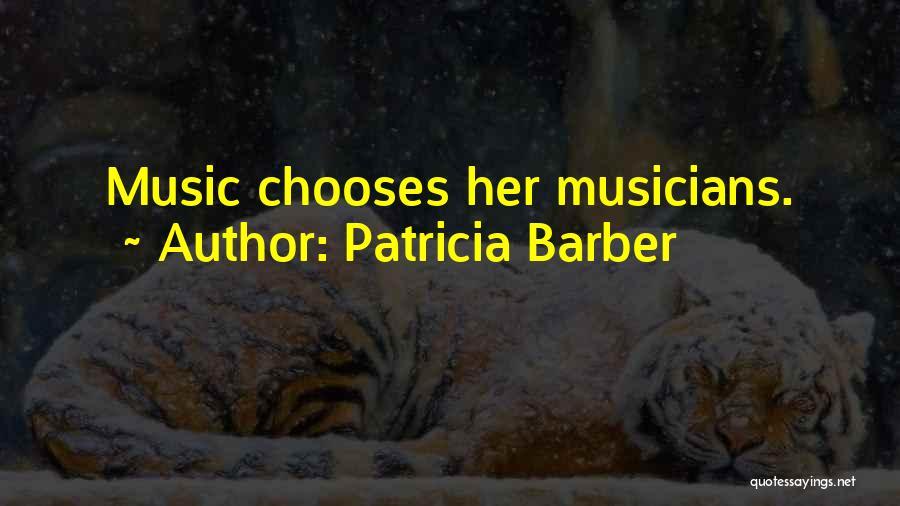 Patricia Barber Quotes 143397