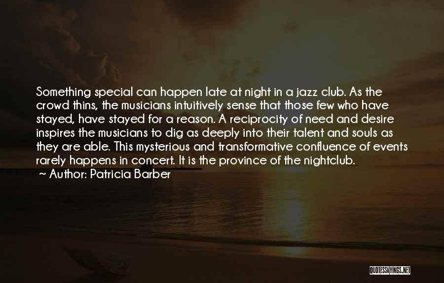 Patricia Barber Quotes 495108