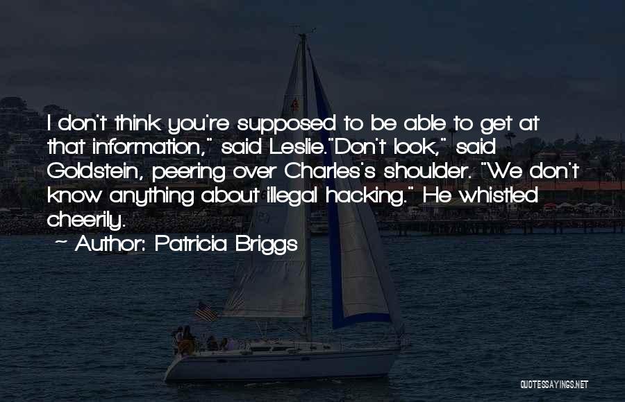 Patricia Briggs Quotes 404285