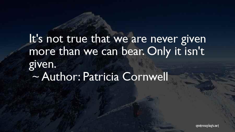 Patricia Cornwell Quotes 369937