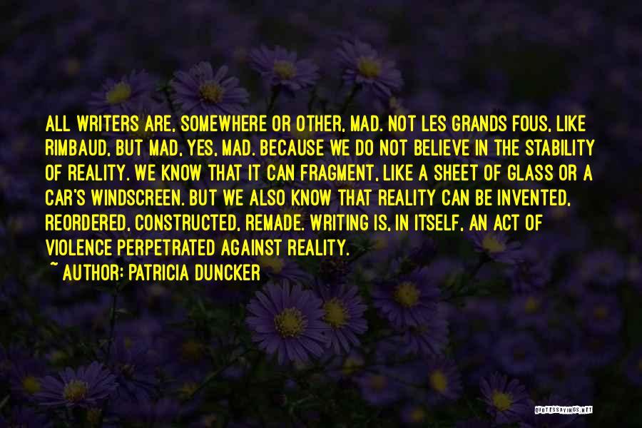 Patricia Duncker Quotes 99453