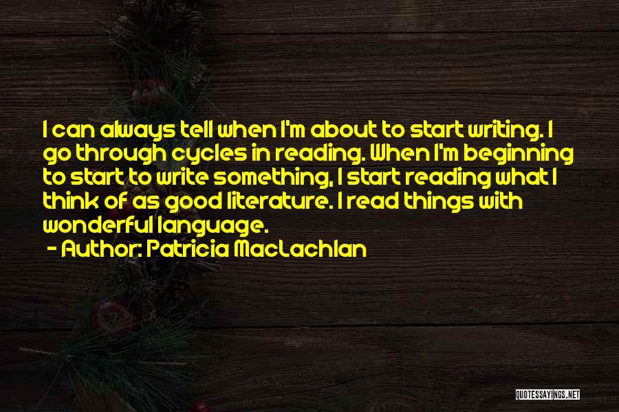Patricia MacLachlan Quotes 954012