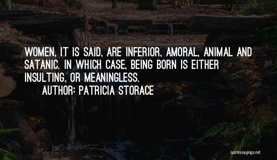 Patricia Storace Quotes 1795937