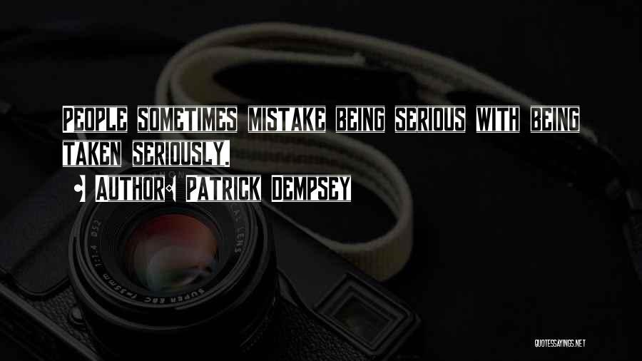 Patrick Dempsey Quotes 537019