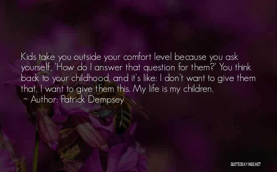 Patrick Dempsey Quotes 774755