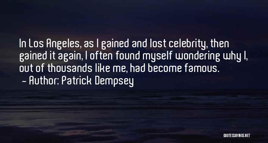 Patrick Dempsey Quotes 842063