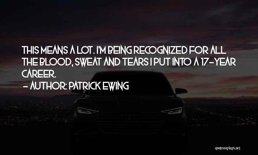 Patrick Ewing Quotes 2070484