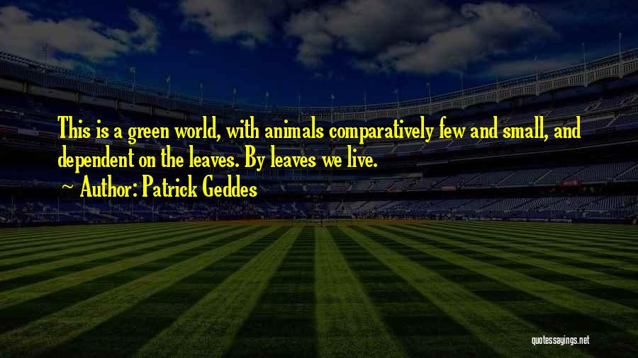 Patrick Geddes Quotes 1929949