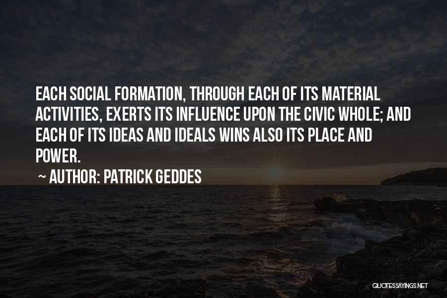 Patrick Geddes Quotes 2161966