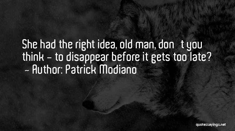 Patrick Modiano Quotes 1202118