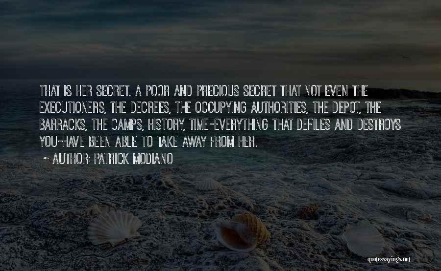 Patrick Modiano Quotes 1305290