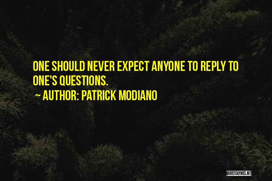 Patrick Modiano Quotes 1397895