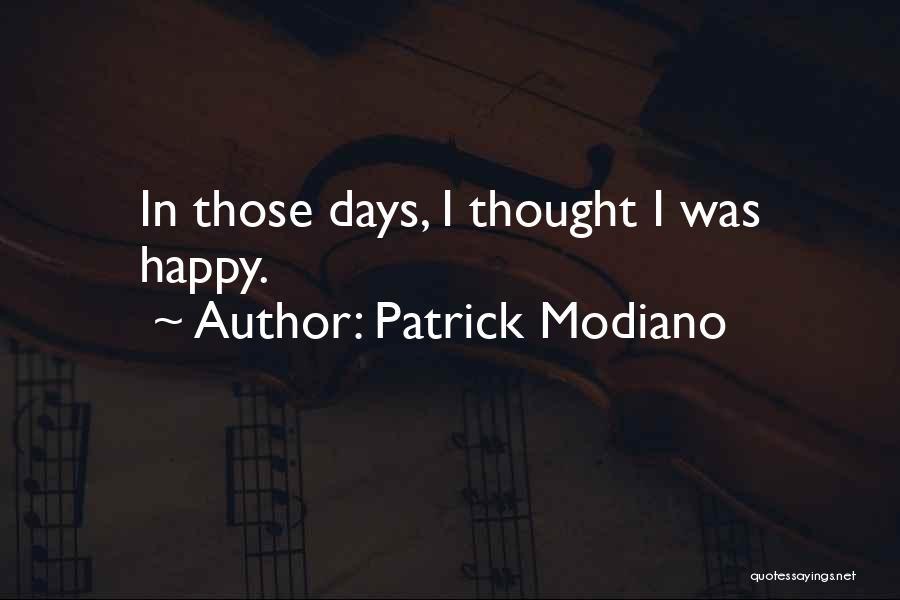 Patrick Modiano Quotes 1403656