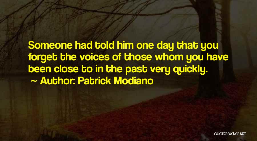 Patrick Modiano Quotes 1514743