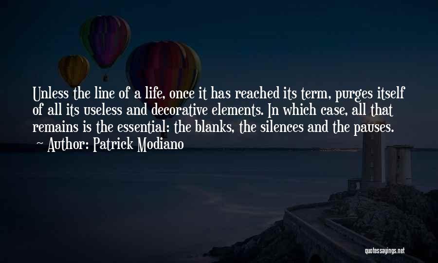 Patrick Modiano Quotes 1554118