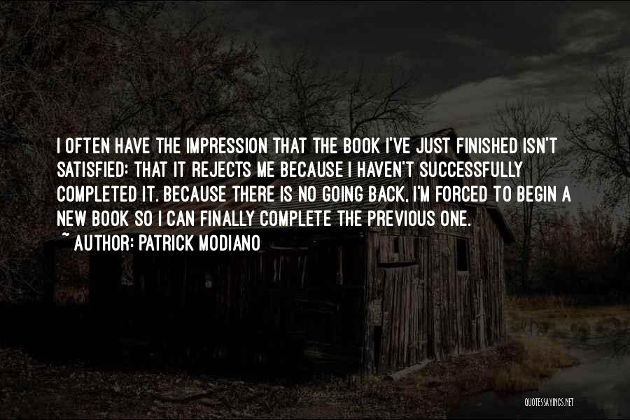 Patrick Modiano Quotes 1650876