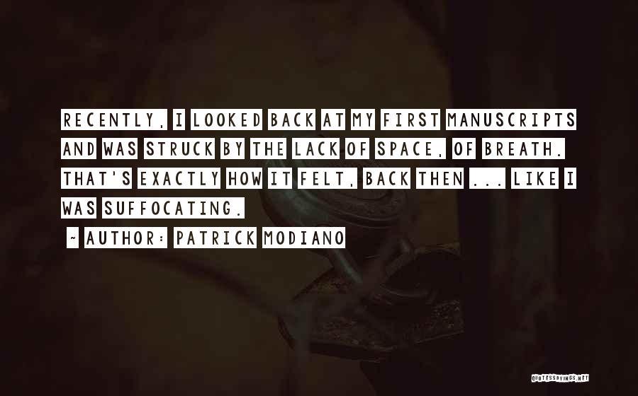 Patrick Modiano Quotes 185578