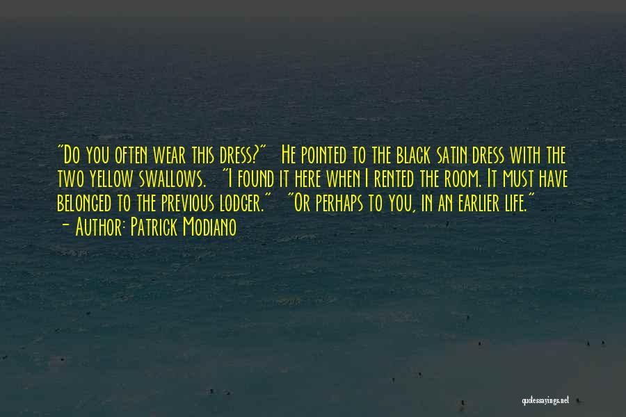 Patrick Modiano Quotes 1872317