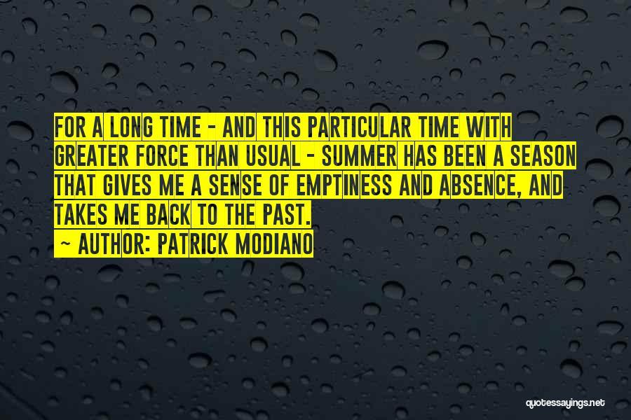 Patrick Modiano Quotes 378153