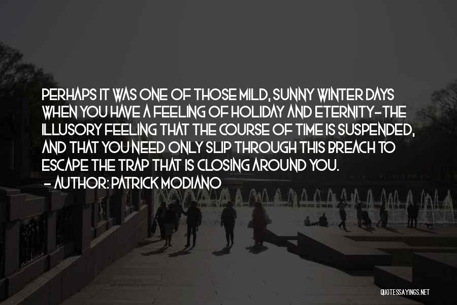 Patrick Modiano Quotes 411800