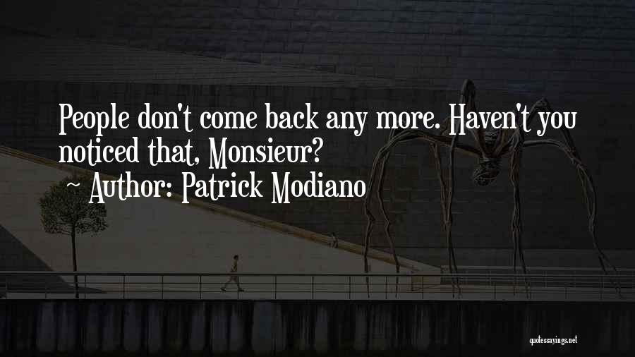 Patrick Modiano Quotes 579234