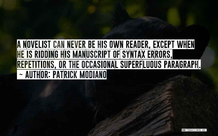 Patrick Modiano Quotes 725768