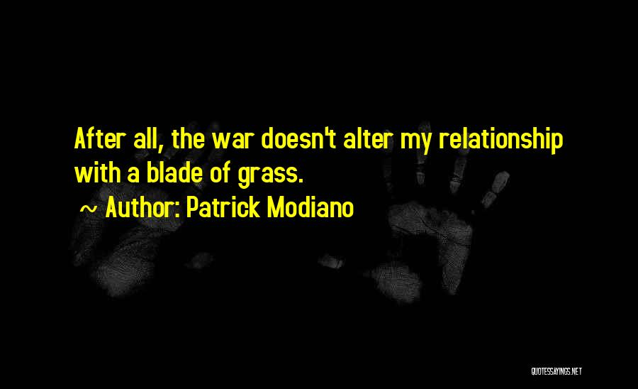 Patrick Modiano Quotes 81277