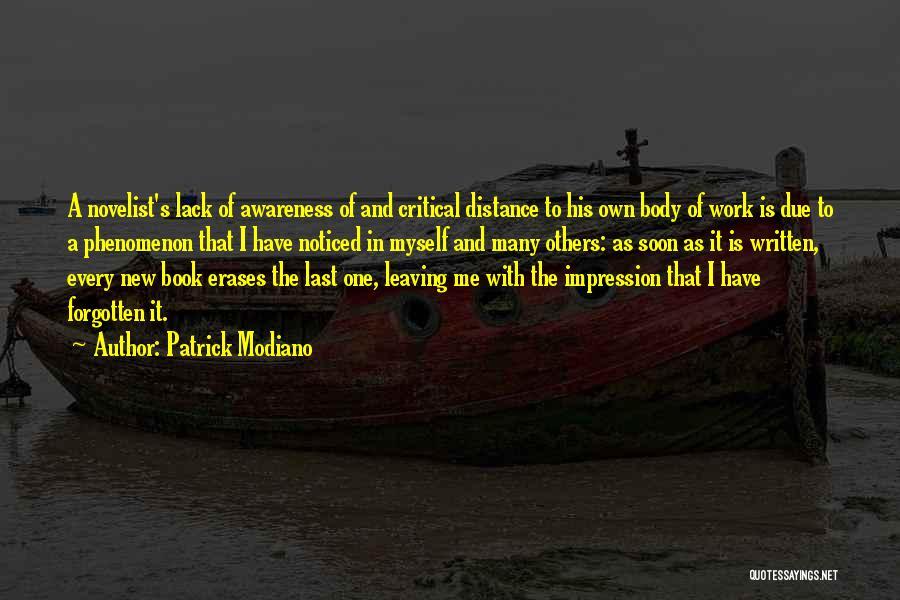 Patrick Modiano Quotes 846063