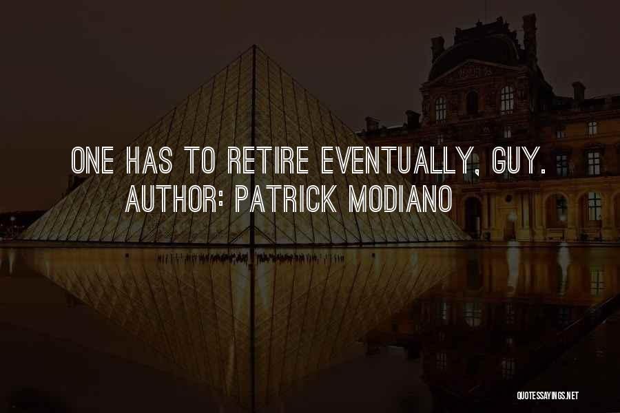 Patrick Modiano Quotes 922870